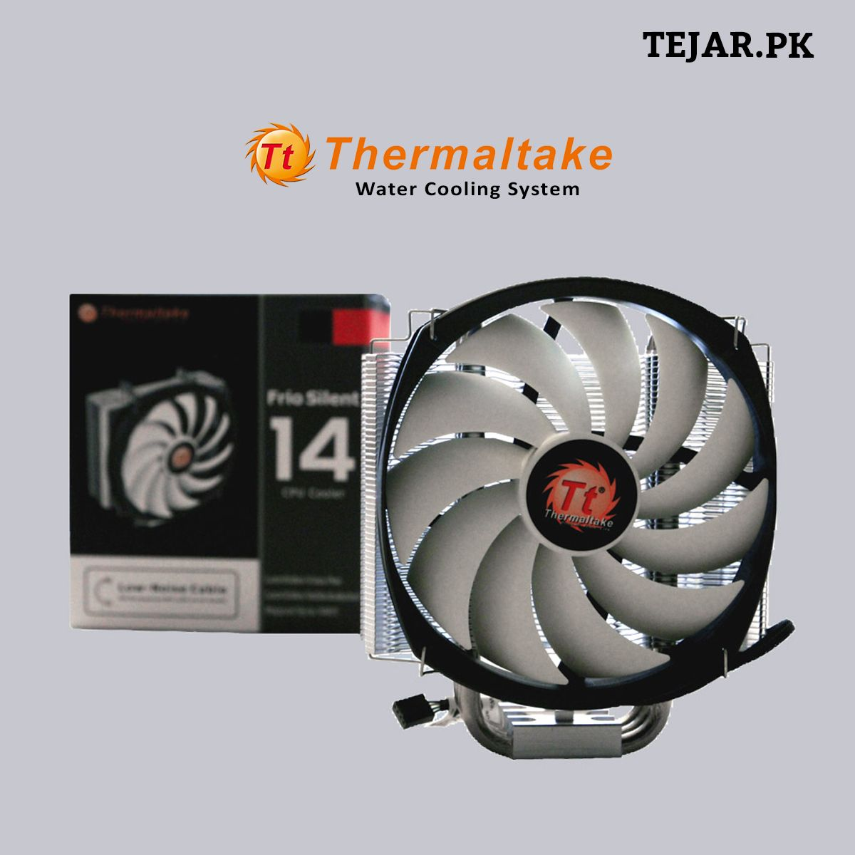 Thermaltake New Frio Silent Series Frio Silent 14 Another Cpu Cooler With Non Interference Cooling Design For The Buy Computer Water Cooling Cooling System