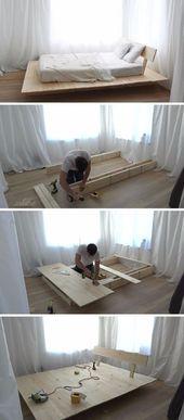Photo of 35 DIY Platform Beds For An Impressive Bedroom Diy Furniture Ideas bedroom Beds …