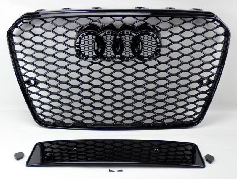 2013 Audi A5 S5 B8 5 Rs5 Style Euro Honeycomb Hex Mesh Black Grill Audi A5 Audi Honeycomb