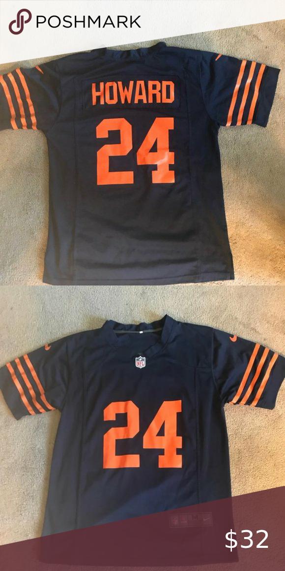 Chicago Bears Throwback Jordan Howard Jersey In 2020 Chicago Bears Jersey Throwback