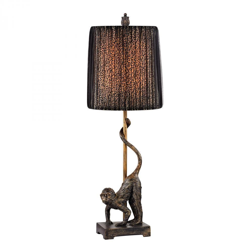 Dimond Aston Monkey Table Lamp In Bronze D2477   Table lamp