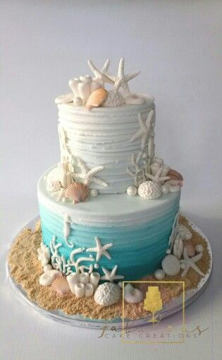 Photo of Beach Themed Cake – Family Table Treasures