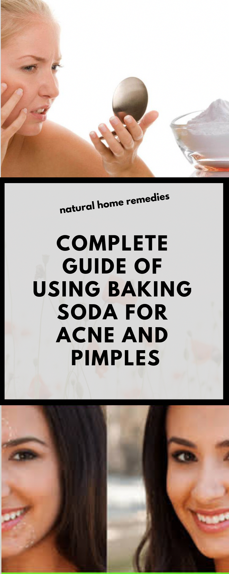 Baking soda sodium bicarbonate is one of the cheapest home remedies you can use to help you get rid of acne and pimplesAs anyone with acne knows it can be very difficult...