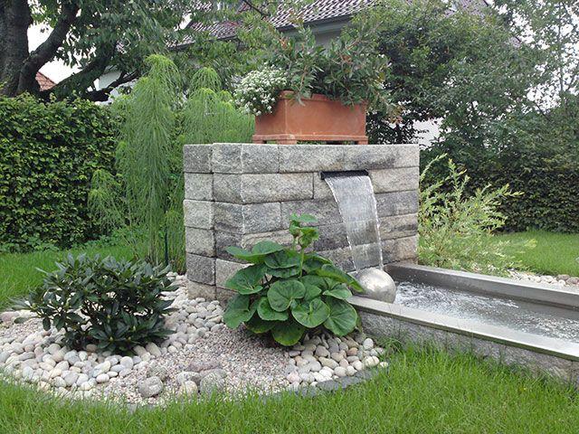 Gartenteich - Bachlauf - Teichgestaltung - Teich im Garten - teich wasserfall modern selber bauen
