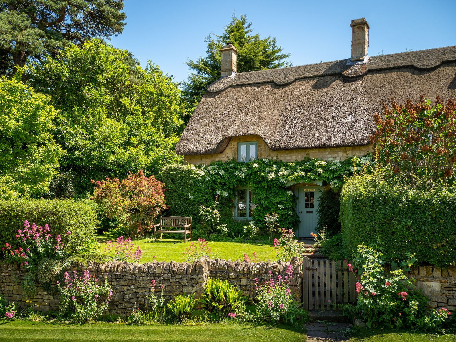 Englischer Landhausstil Rose Cottage Chipping Campden Cotswolds In 2020