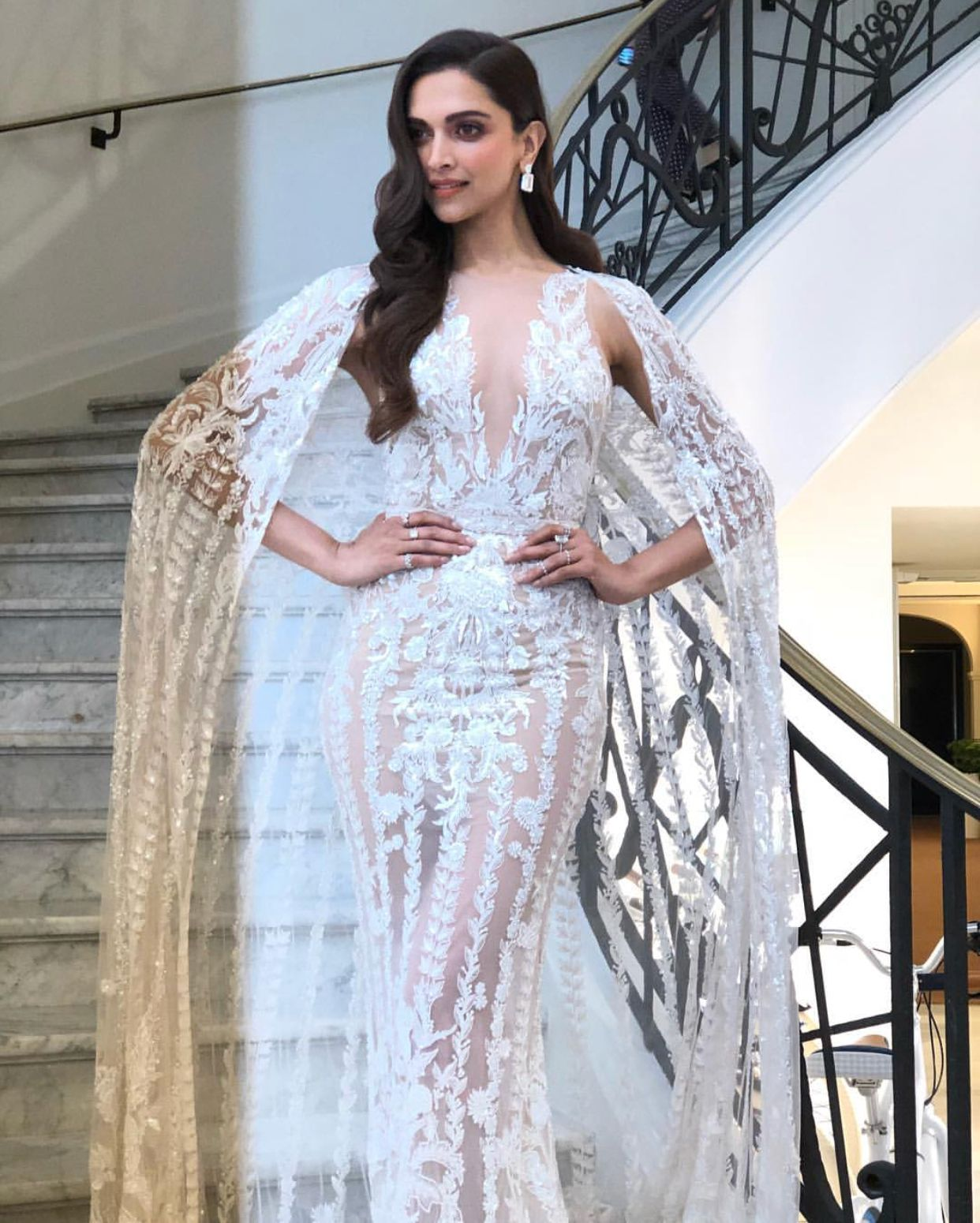 Deepika At Cannes 2018 In Zuhair Murad Dreamy Gowns Indian Sari Dress Couture Dresses