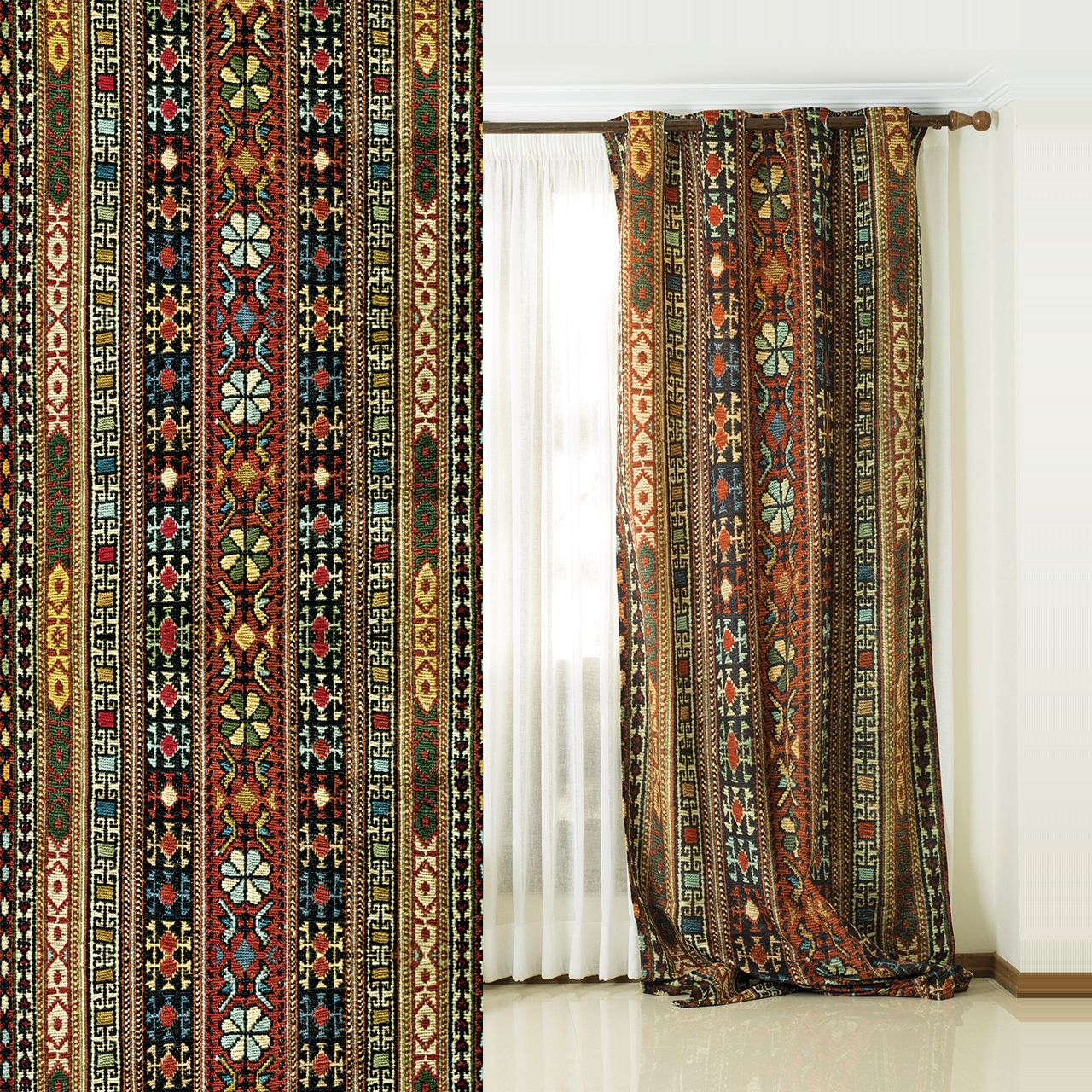 پرده های سنتی Iranian Traditional Curtain