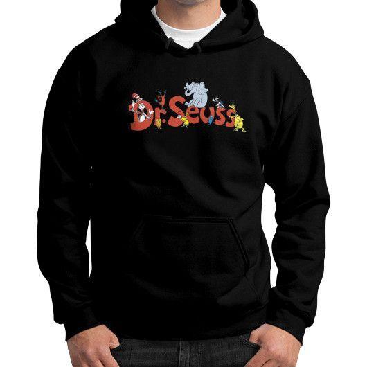Dr Seuss Gildan Hoodie (on man) Shirt