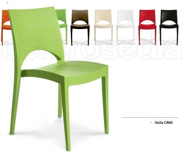 Stock Sedie In Plastica.Chantal Sedia Polipropilene Sedie Plastica Polipropilene