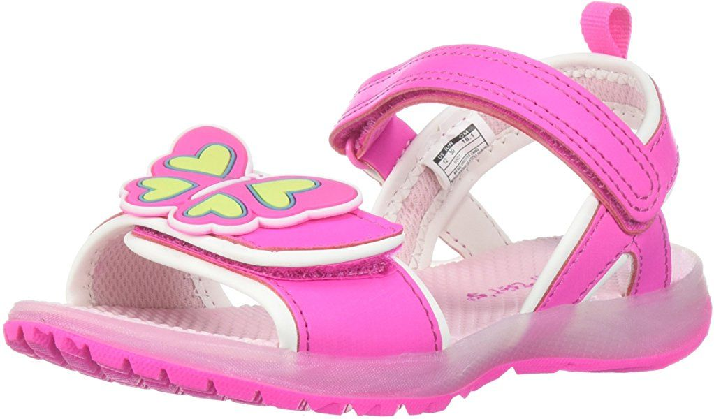 42637f91c1143 Amazon.com   Carter's Girls' Birdy Light Sandal, Pink, 10 M US ...