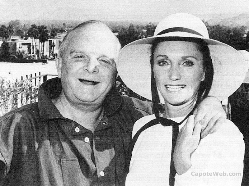 Truman Capote And Joanne Carson Truman Died At Carson S Home In