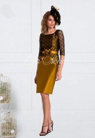 Vestido de fiesta y madrina Madison Diseño Modelo 1703 en Eva Novias Madrid. #dress