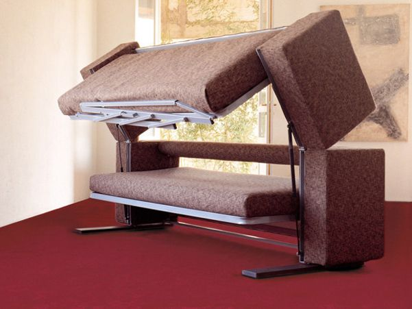 Designer Giulio Manzoniu0027s Multifunctional Sofa Bunk Bed(Transforms In Only  12 Seconds)
