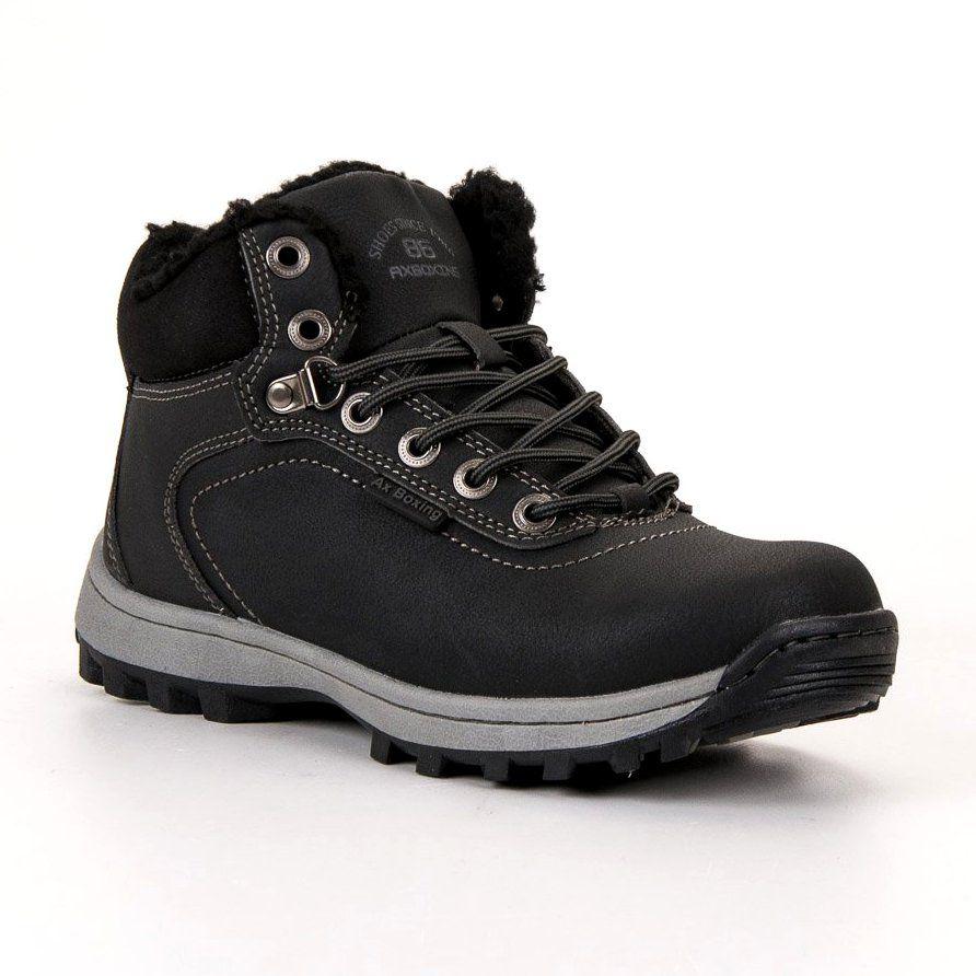 Ax Boxing Insulated Trekking Shoes Black Trekking Shoes Hiking Boots Women Shoes