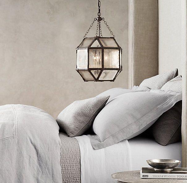 Linen quilt...dove grey