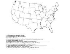 This mapping worksheet helps students get a geographical picture