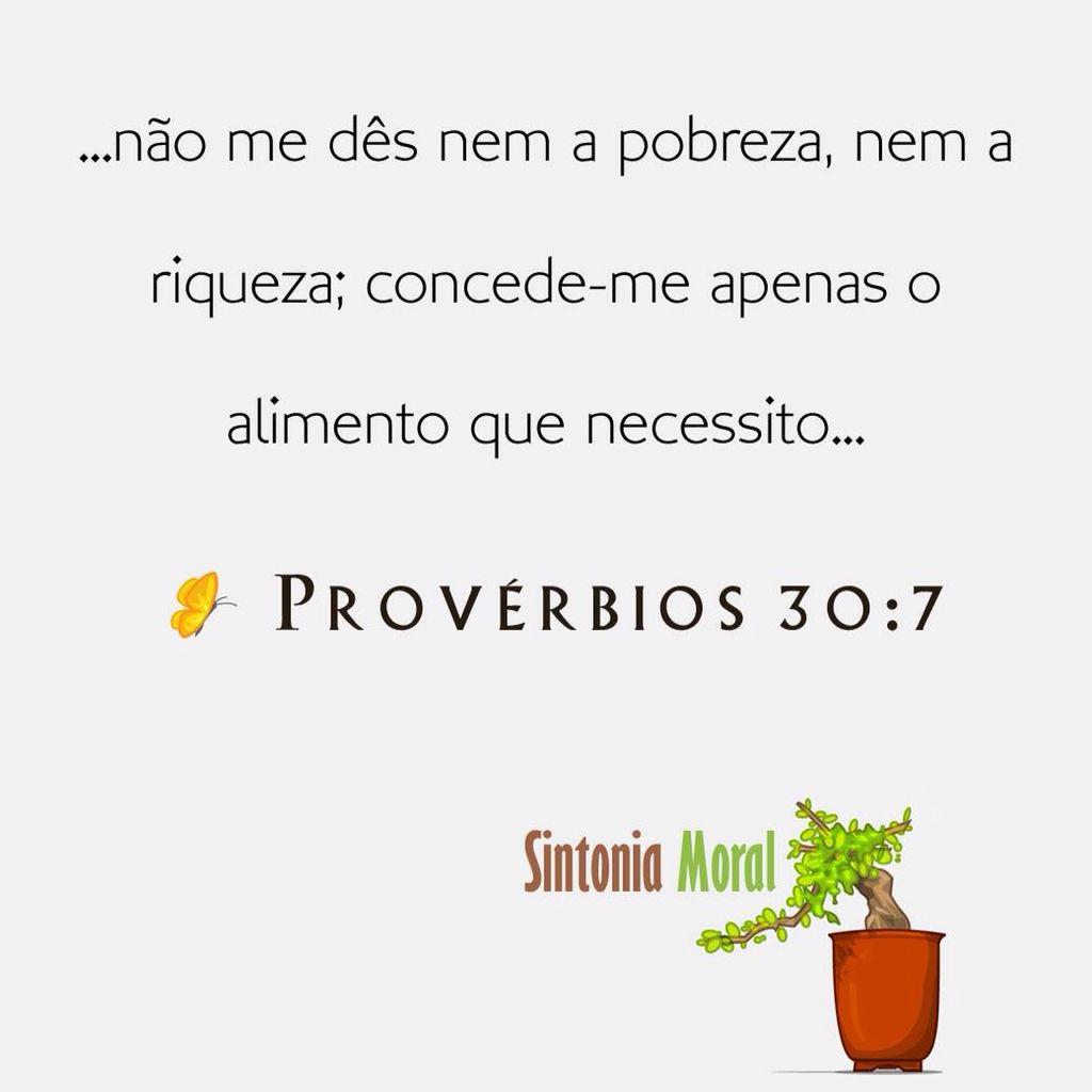 Provérbios 30:7