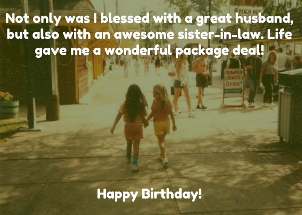 Happy Birthday Sister In Law Quotes Pictures Birthday Wishes For