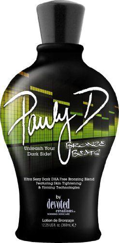 Pauly D Bronze Beats Bestseller Indoor Tanning Lotion Tanning Lotion Tanning Bed Lotion