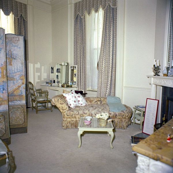Jackie Kennedy's Dressing Room In January, 1962