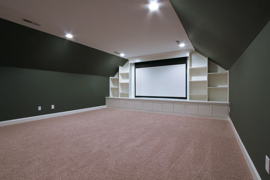 This Week S Featured Home Hagen Floor Plan Gallery Attic Game Room Home Theater Rooms Room Above Garage
