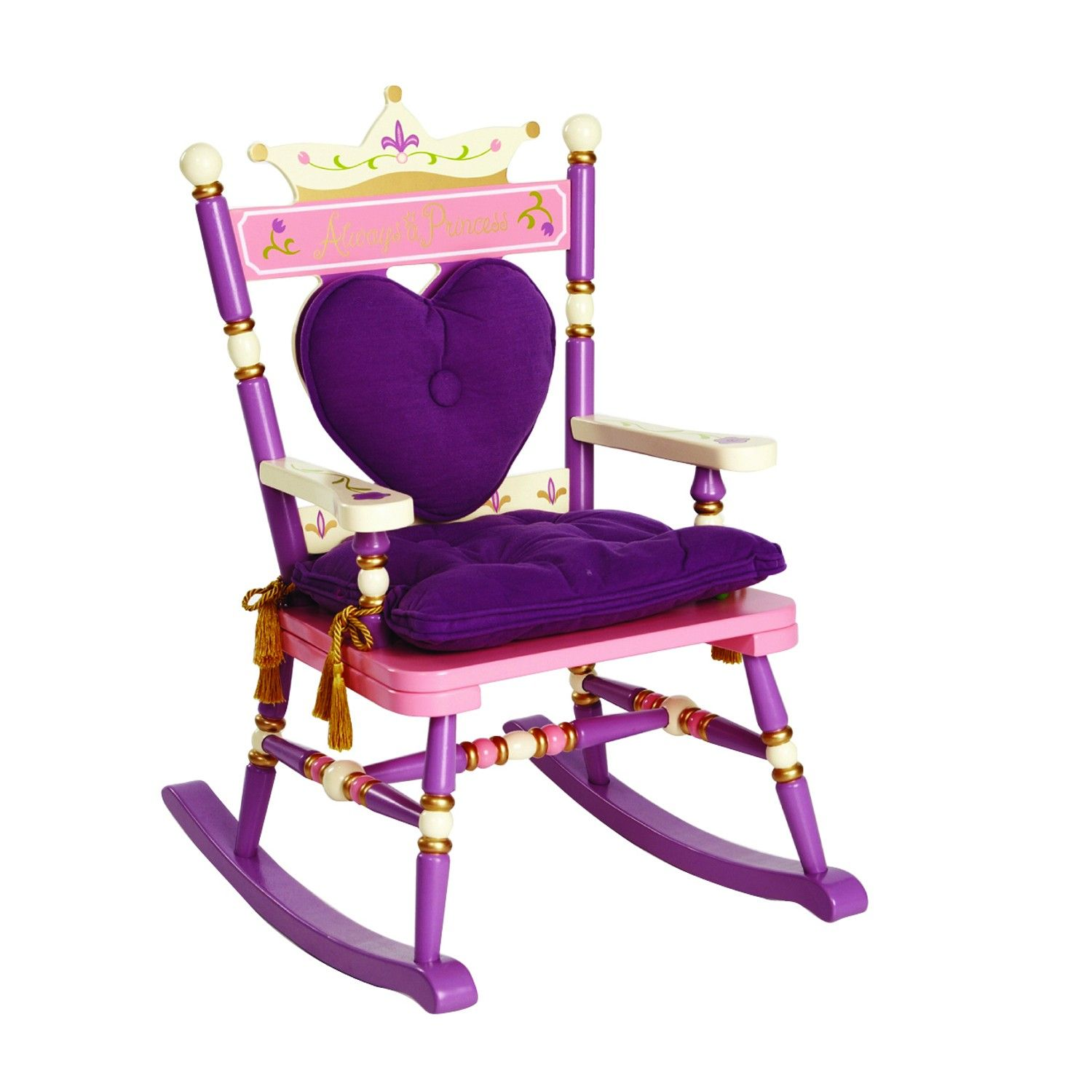 Levels of Discovery Royal Princess Children s Rocker Rocking Chair