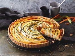 Křehký koláč s cuketou a mrkví #rührteiggrundrezept