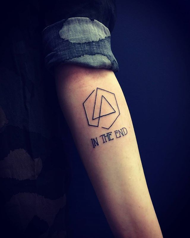 Linkin Park Tattoos Linkin Park Likin Park E Park Art