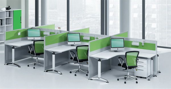 Office Green White Color Scheme And Modern Furniture With Perfect Setting Make This Stylish Looks Elegant Inspiration Design Ideas For