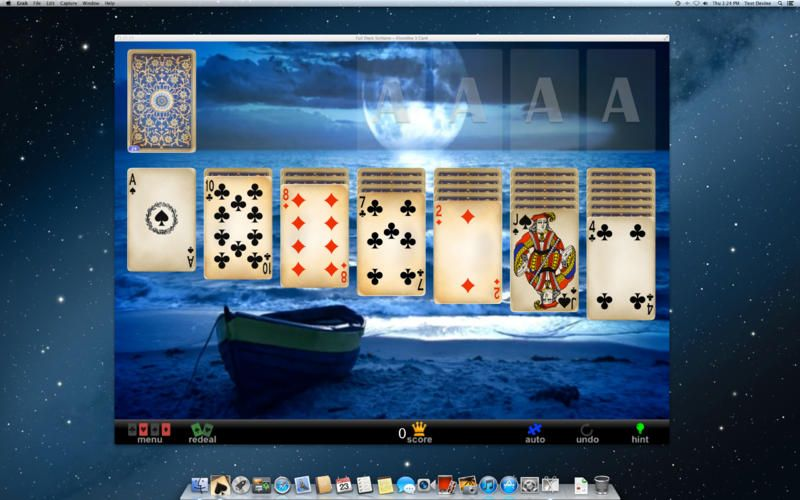 Screenshot 1 Solitaire games, Solitaire, Deck