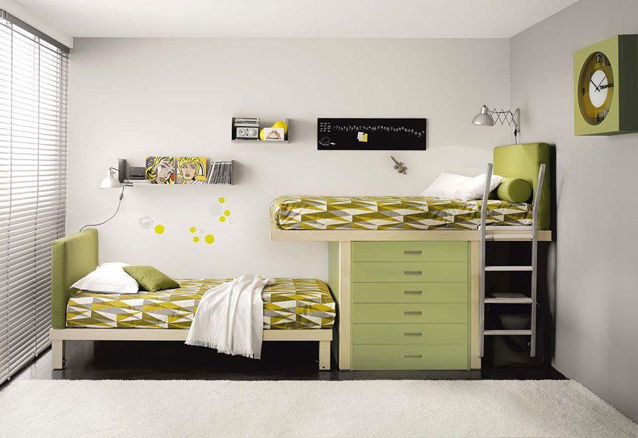 Camere Per Ragazzi Salvaspazio : Modelli di camerette salvaspazio per bambini e ragazzi