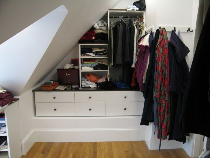 Reach In Closets Slanted Roof   Google Search