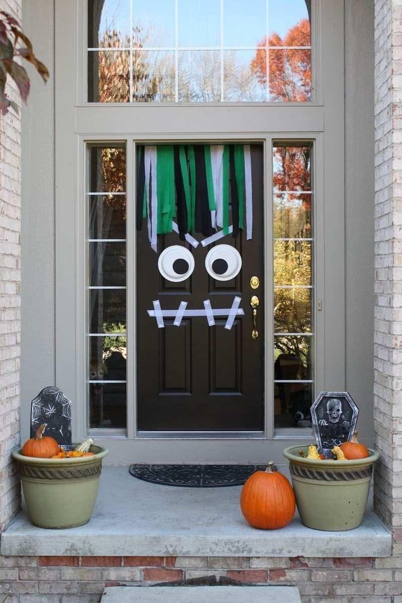Halloween Deko Fur Die Haustur Basteln 50 Turdeko Ideen