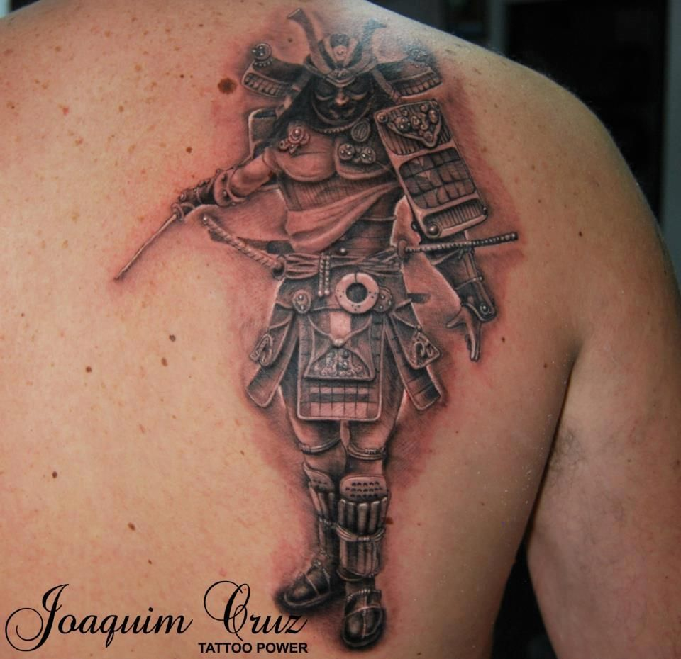 samurai tattoo by joaquim cruz 412x400 jokes souvenirs. Black Bedroom Furniture Sets. Home Design Ideas