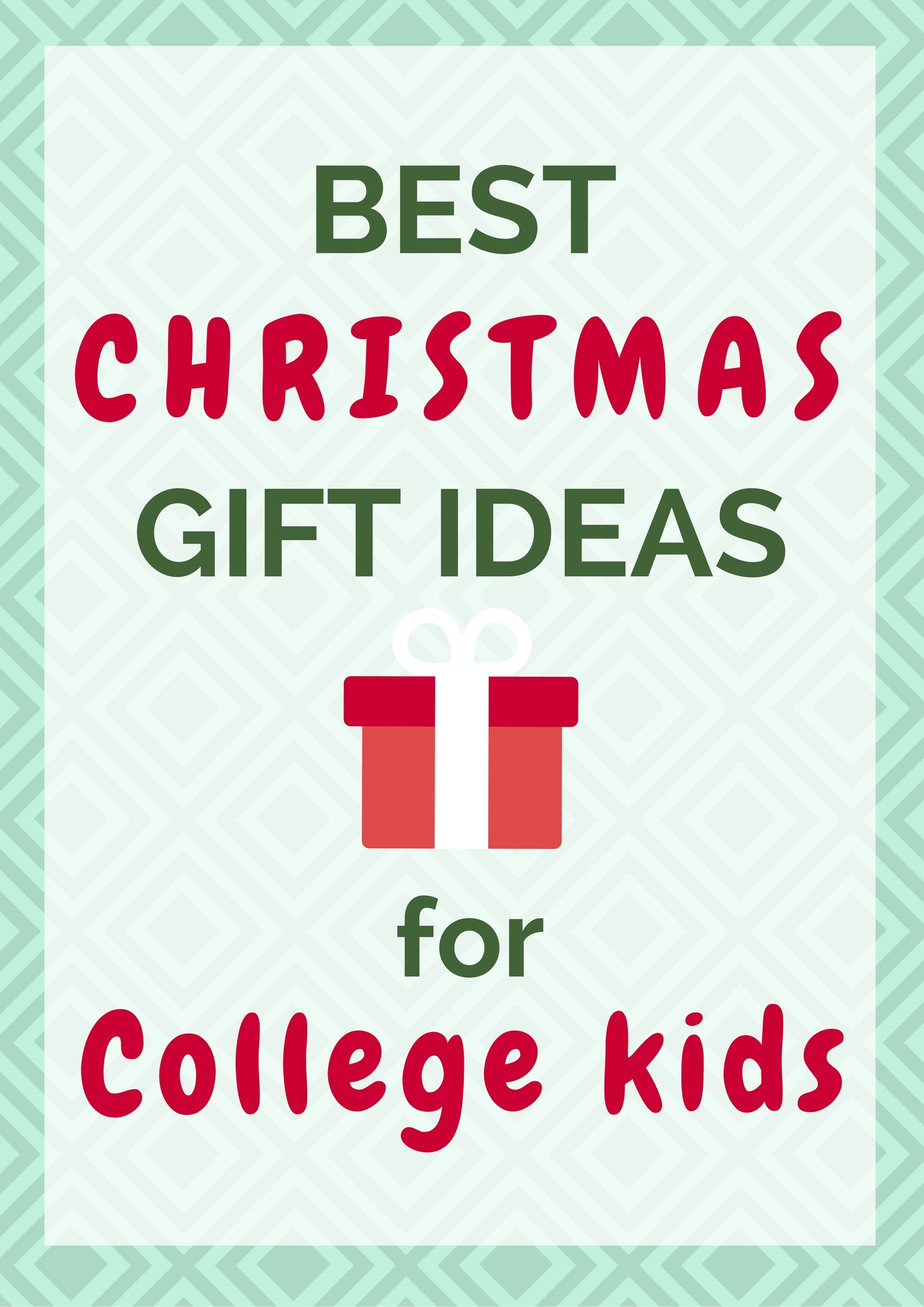 College boy christmas gift ideas