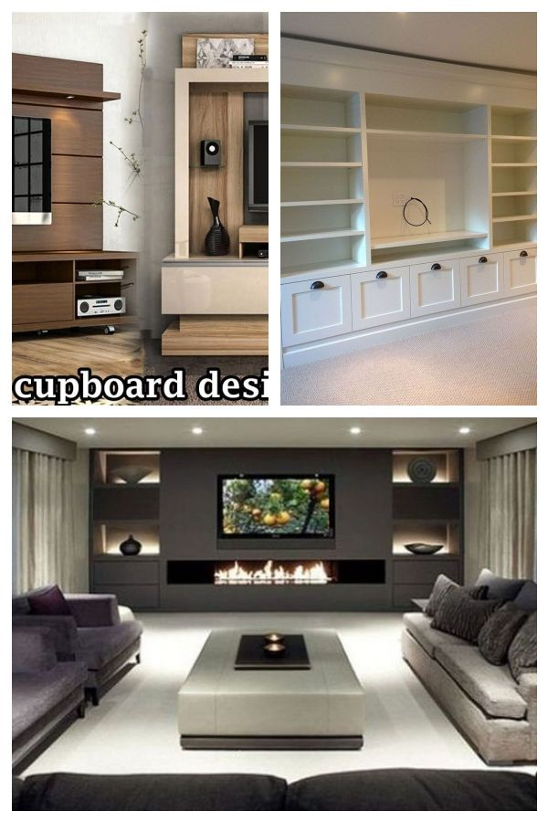 30 Simple TV Unit Designs for Living Room (With images ...