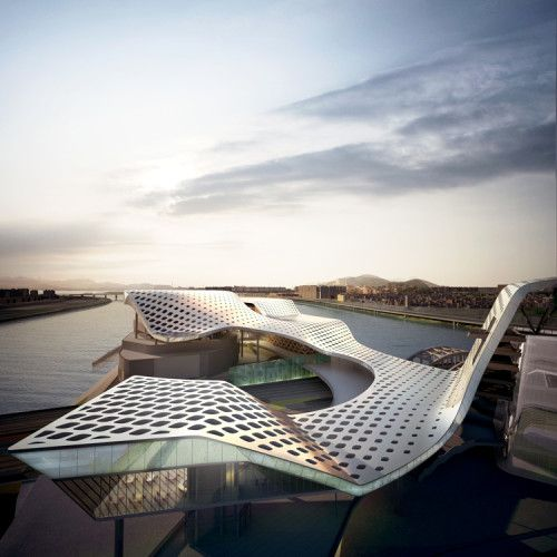 Seoul Performing Arts Centre by dmp Architects