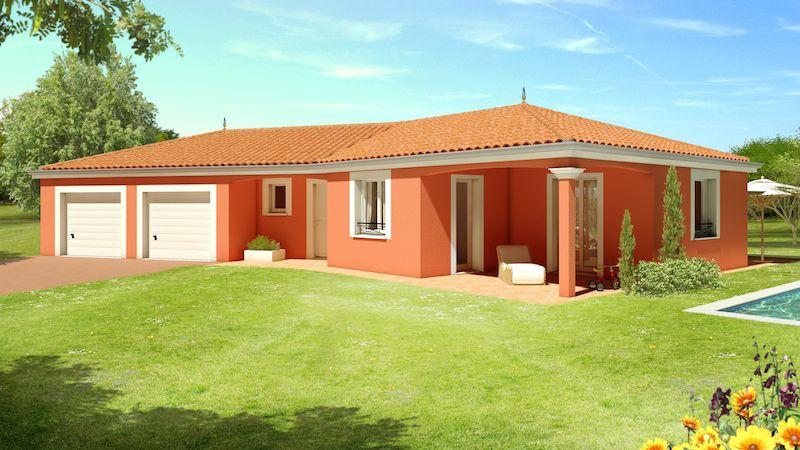 Moorea construction villa demeure plainpied for Plan de maison africaine