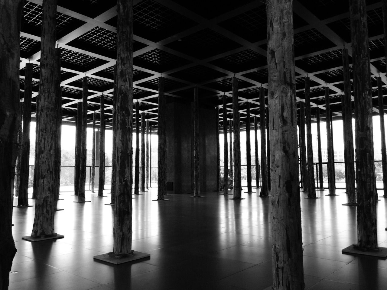 discovr-beauty:  Neue Nationalgalerie by Mies van der Rohe | Berlin | Germany.   My shot. discovr-beauty