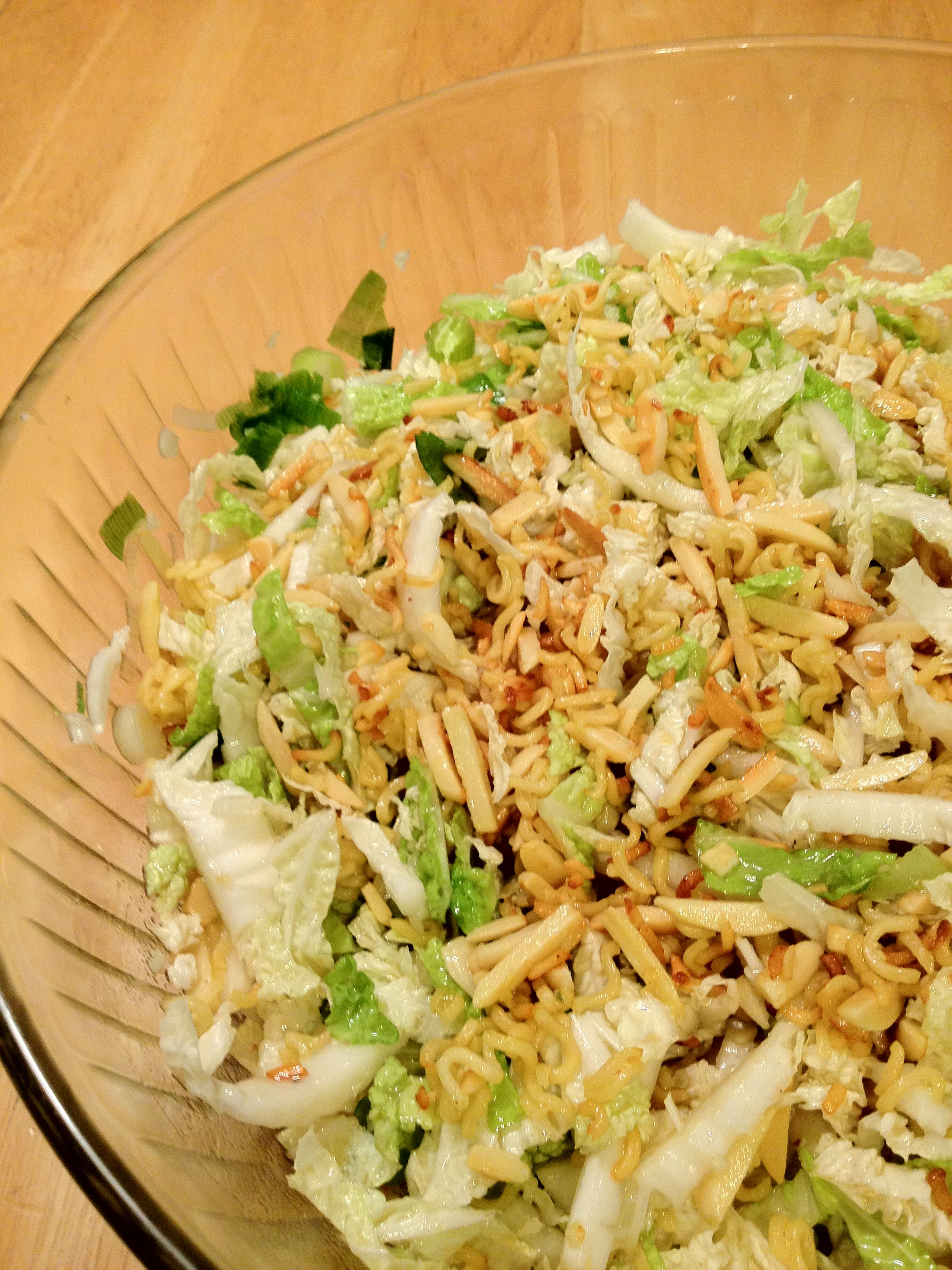 Napa Cabbage Recipes, Chinese Cabbage Salad and Napa Cabbage