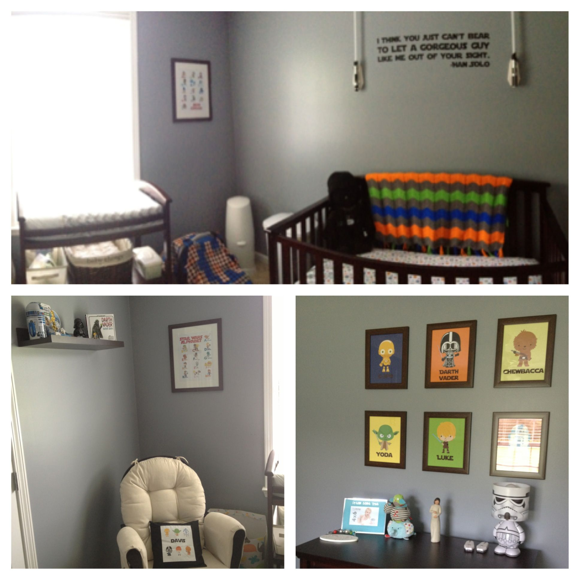 A Star Wars Nursery Will Happen In The Future Baby