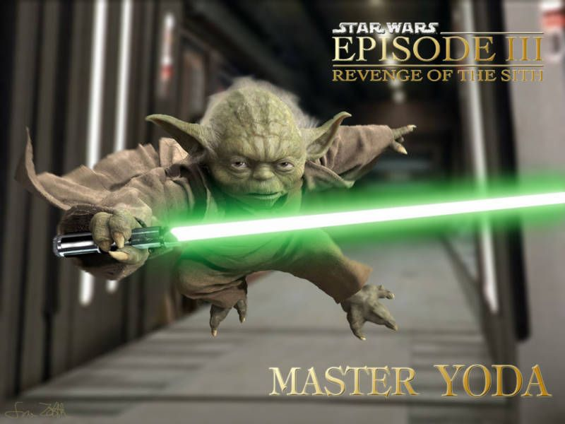 Starwars Revenge Of The Sith Master Yoda Poster From 8 0 Star Wars Characters Wallpaper Star Wars Pictures Star Wars Characters