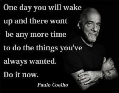 The only thing holding you back from today..,is you! Do it now!