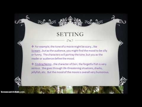Story Elements CCSS RL 7.3 - YouTube