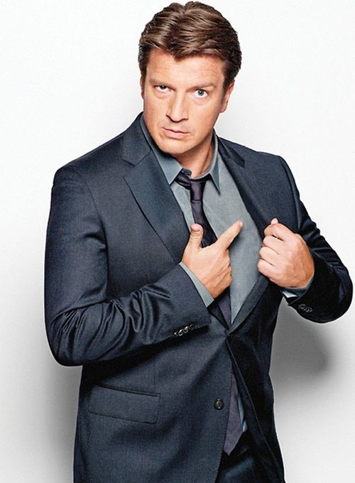 You have my heart Nathan Fillion.  Not to sound all fangirly, but marry me?