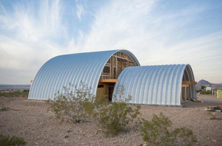 27 unique quonset hut homes for wonderful living. Black Bedroom Furniture Sets. Home Design Ideas