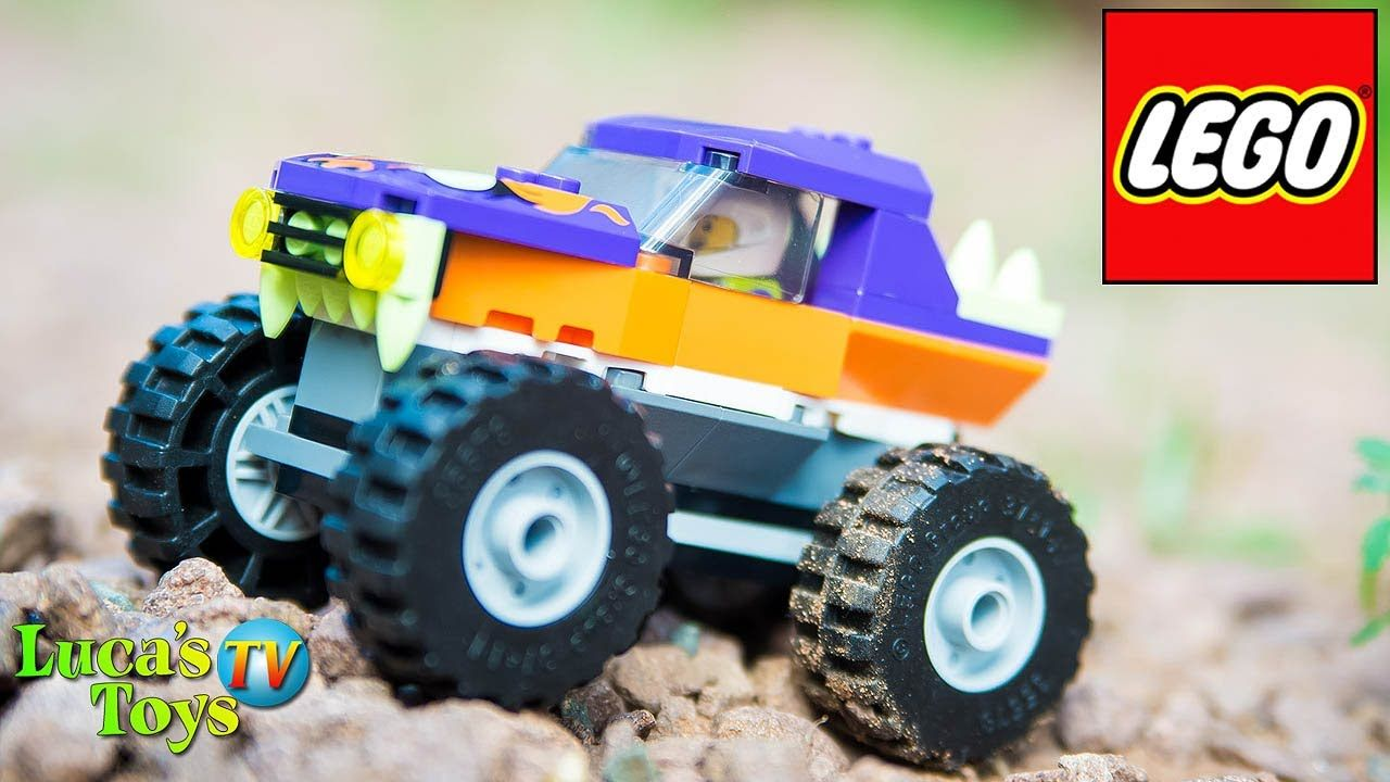Lego City Monster Truck Lego 60251 Truck Speed Build And Review 2020