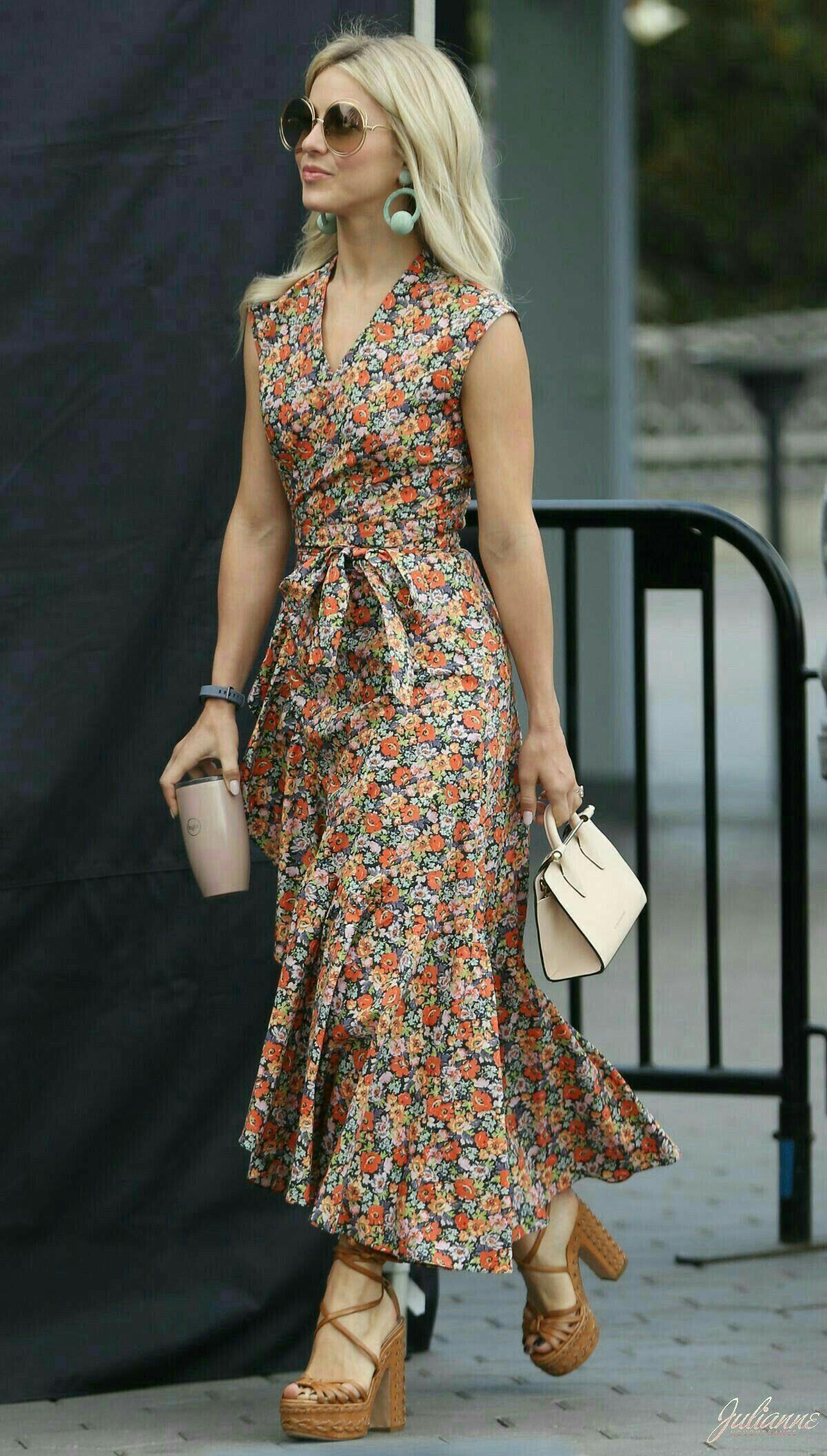 Boho dress, floral dress, boho trend, boho fashion ...