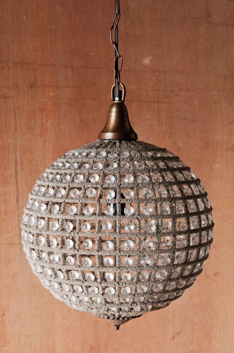 Chehoma Globe Shaped French Inspired Chandelier