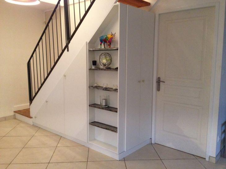 Un aménagement sur mesure avec dessinetonmeublefr - porte de placard sous escalier